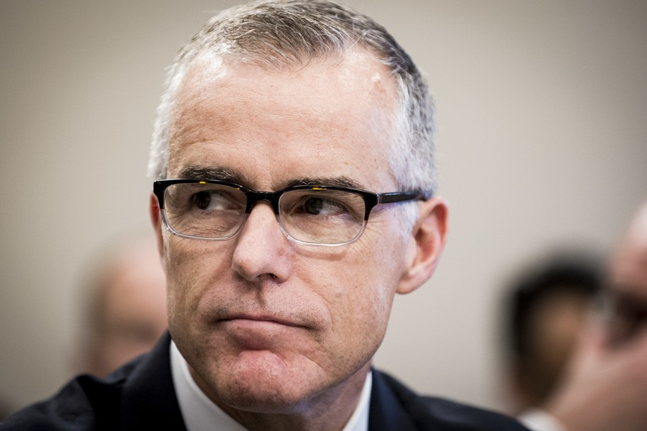 Former acting FBI Director Andrew McCabe suing FBI and Justice Department for firing