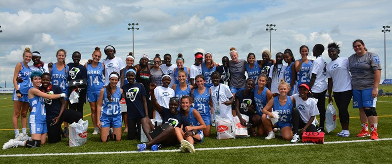 Israeli Women's Lacrosse Team Noticed Why They Had Such An Advantage Over The Kenyan Team; Fixed It.