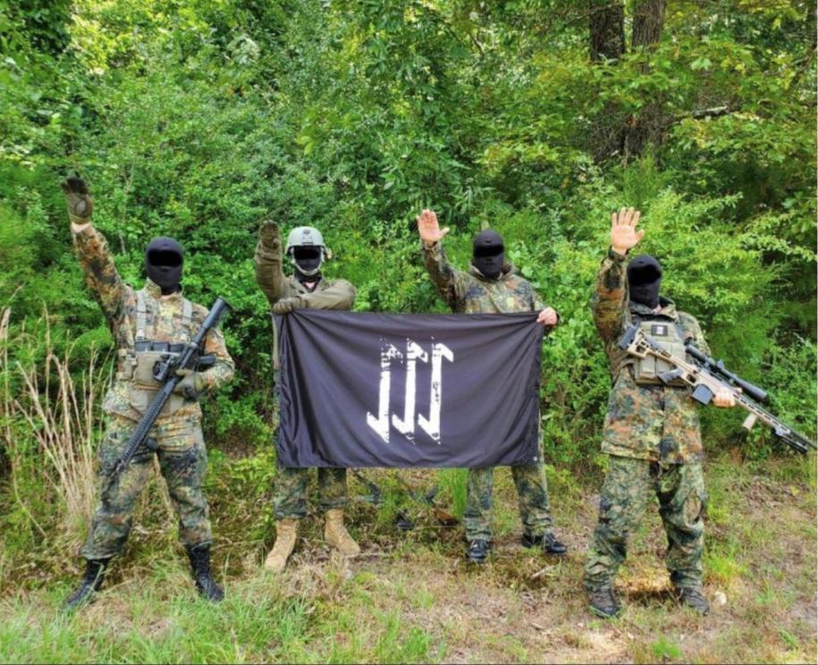 A Neo-Nazi militia training in the NE Washington woods fits into the region's dark history
