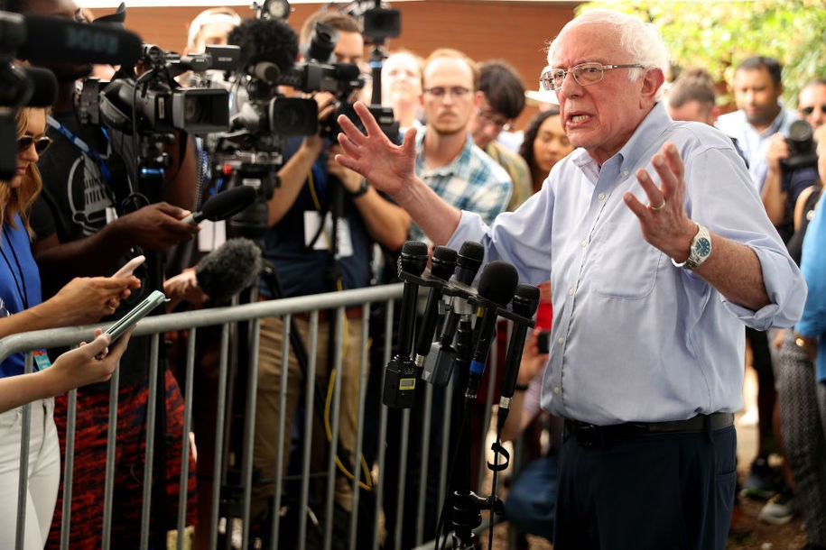 What Bernie Sanders gets right with his critique of the corporate media