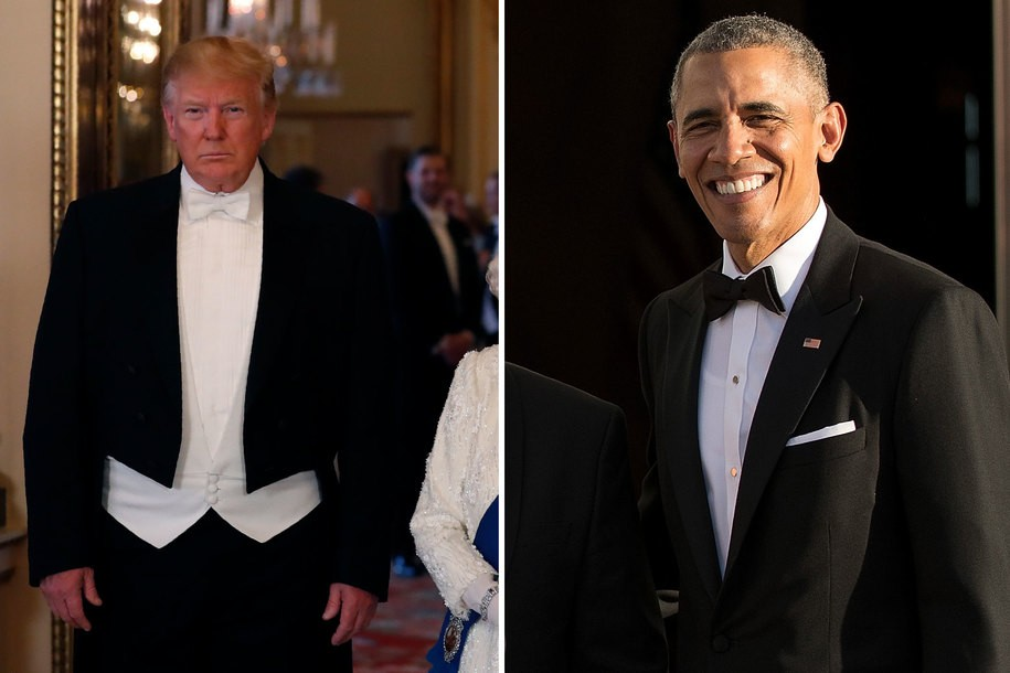 Did Donald Trump cancel his trip to Denmark because he's afraid of President Obama?