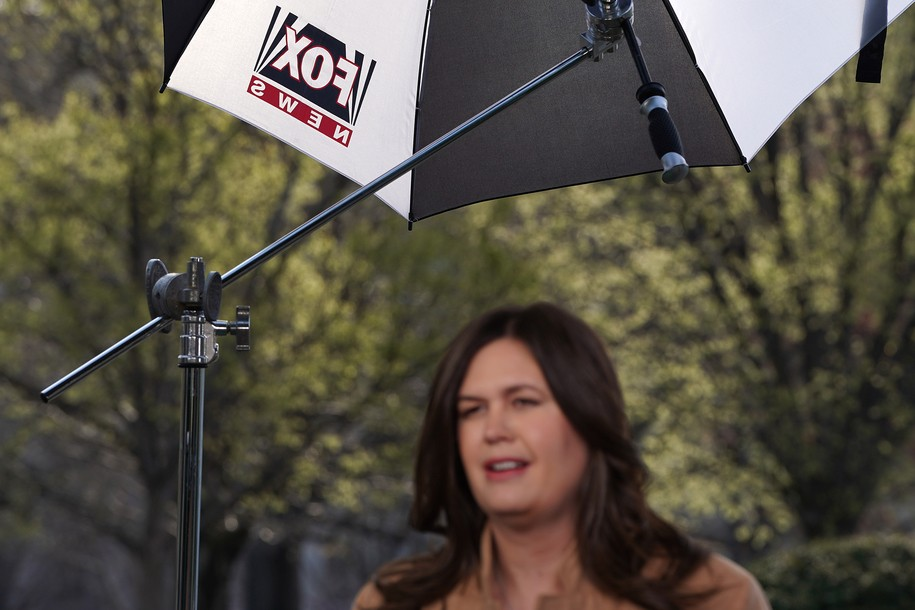The only good thing about Sarah Huckabee Sanders' new job at Fox News is the Twitter responses