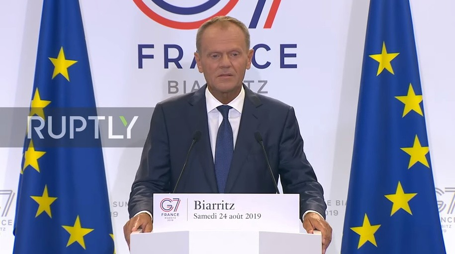 European Council President Donald Tusk blasts Trump over idea of inviting Russia back into G-7