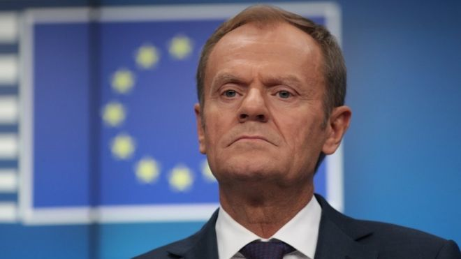 As drumpf Arrives at G7, EU President Tusk Basically Tell Him Get Stuffed on Russia Re-admittance.