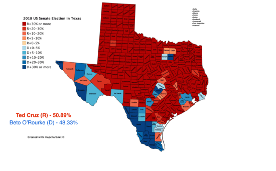 Political Geography Of Texas