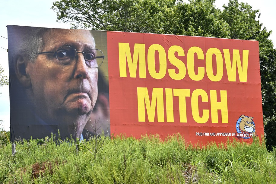 Moscow Mitch McConnell brushes off calls to 'do your duty,' plans to ignore impeachment hearings