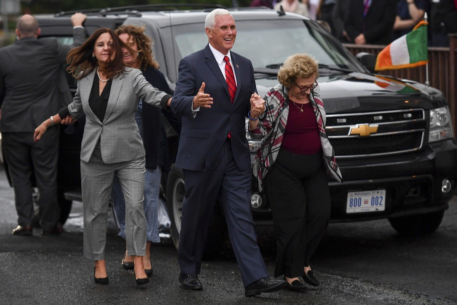 Pence family boondoggle in Ireland cost U.S. taxpayers $600,000 for the limos alone