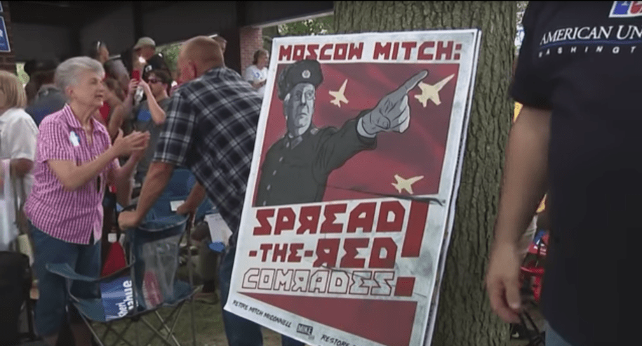 Moscow Mitch: 'Impeachment stops … with me as majority leader'