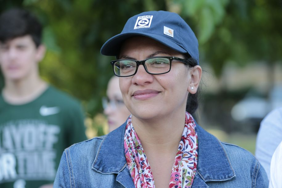 Daughter of a Ford autoworker, Rep. Tlaib is true to her roots in standing with striking autoworkers