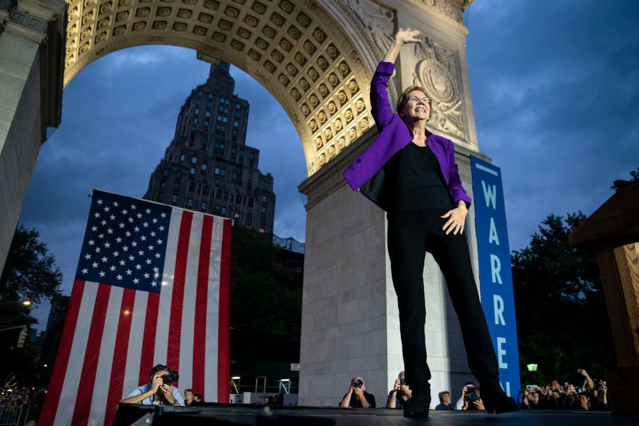 Warren shows how to integrate the fights against racial and economic inequality