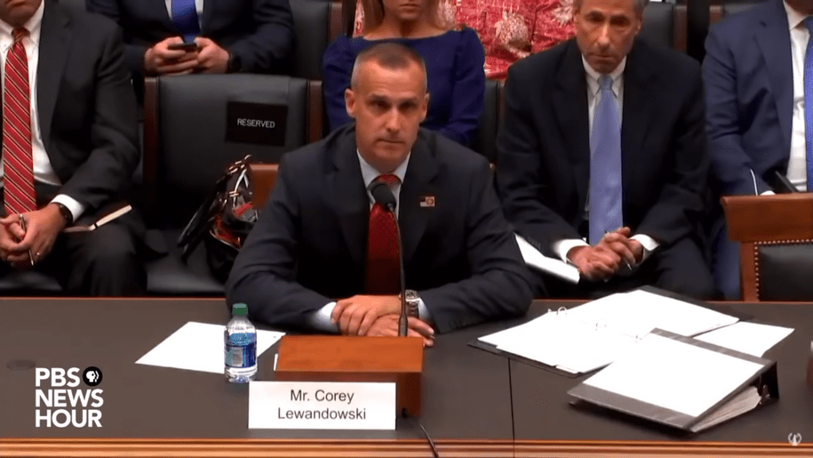 Watch as House Judiciary counsel Barry Berke knocks the smug off Corey Lewandowski's mug