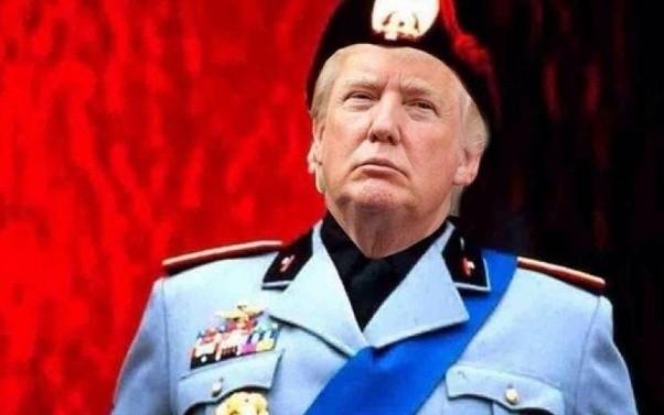Trump is Mussolini