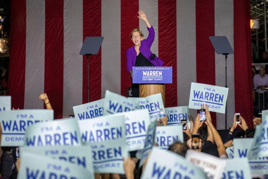 Good grief, New York Times—Trump is not a 'populist' like Warren