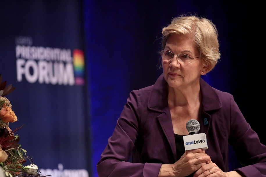 Warren reads names of 18 black trans women killed in 2019, calls for Congress to back LGBTQ equality
