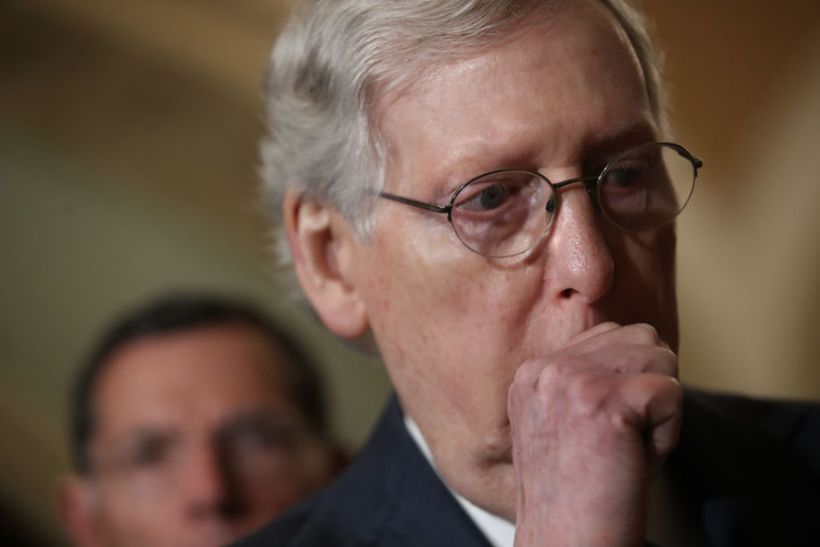 McConnell won't allow witnesses in Senate trial because they could mean conviction