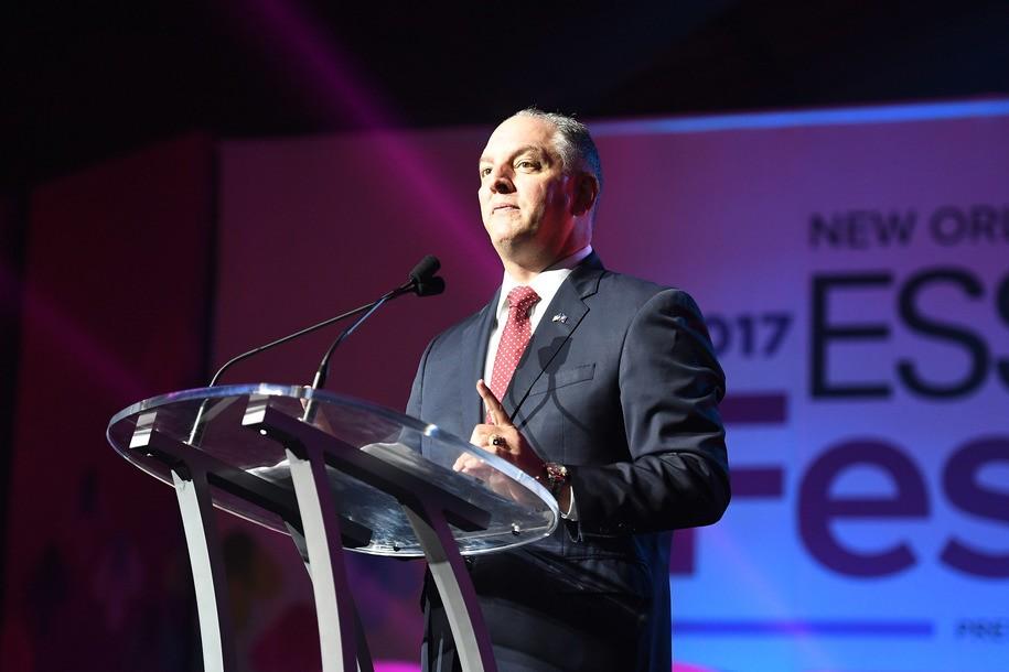 Democrat John Bel Edwards wins a second term as governor of Louisiana