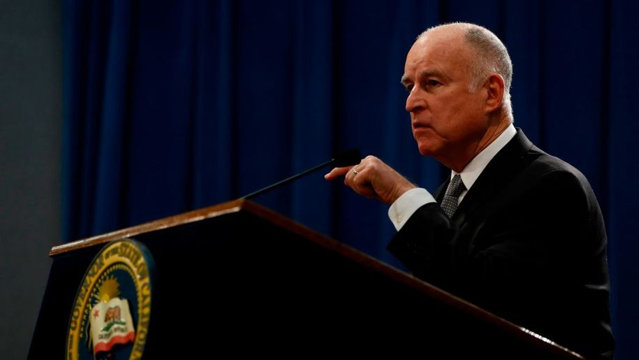 Jerry Brown, former four-term governor of California.