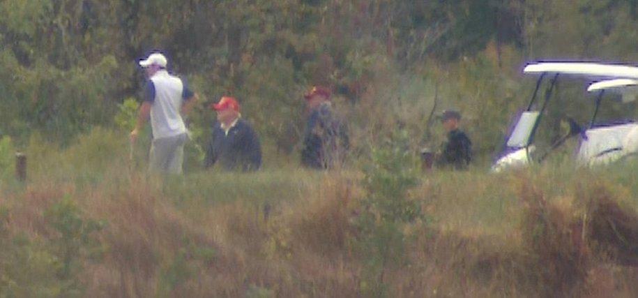 Trump golfs during #ImpeachNow rallies in 60 cities