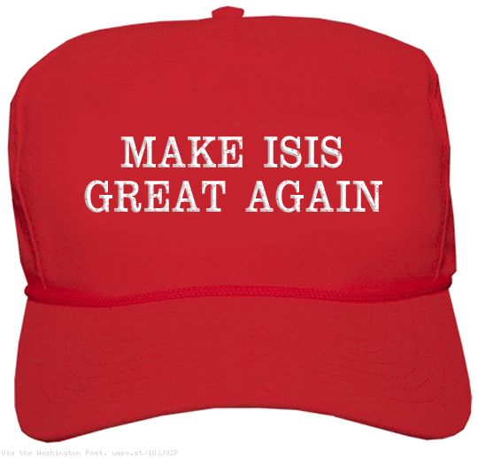 Let's see…Russia, Iran, Syria, ISIS…All Great Again. America? No, You Don't Seem to be on the List.