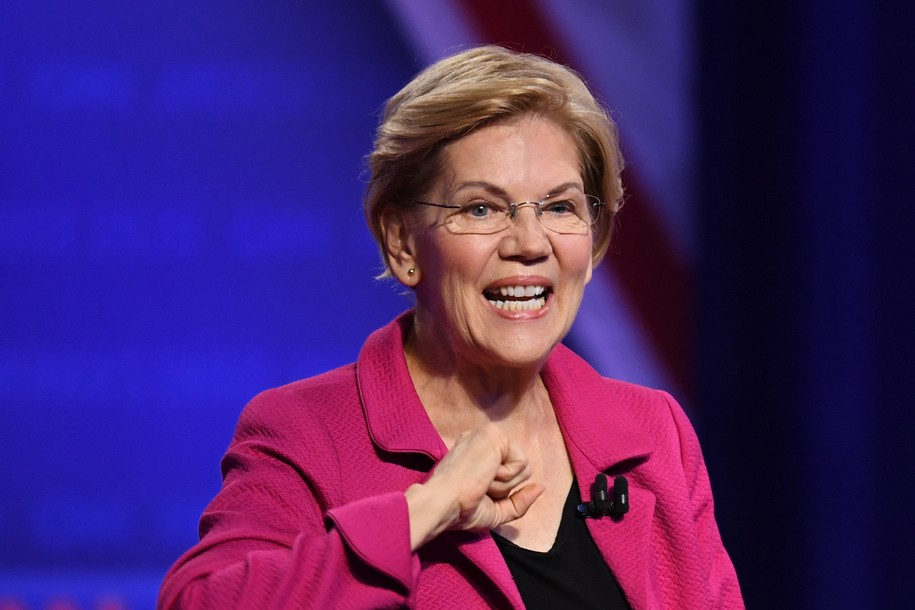 Biden falls to third and Warren takes the lead in new national Democratic primary poll