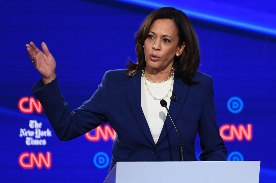 Kamala Harris evokes Maya Angelou then sizzles Trump: 'I know a confession when I see it'