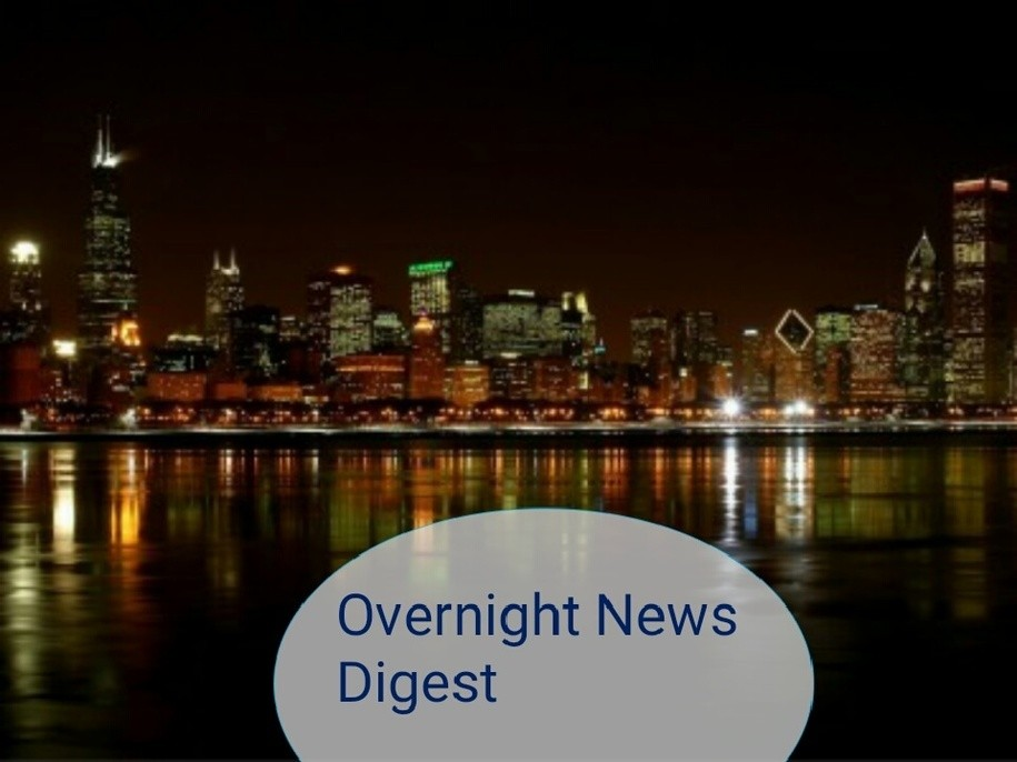 Overnight News Digest October 15, 2019