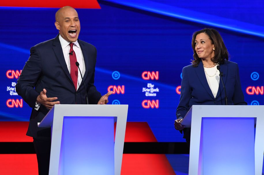 Kamala Harris doesn't mince words on healthcare and abortion bans in debate: 'Women will die'