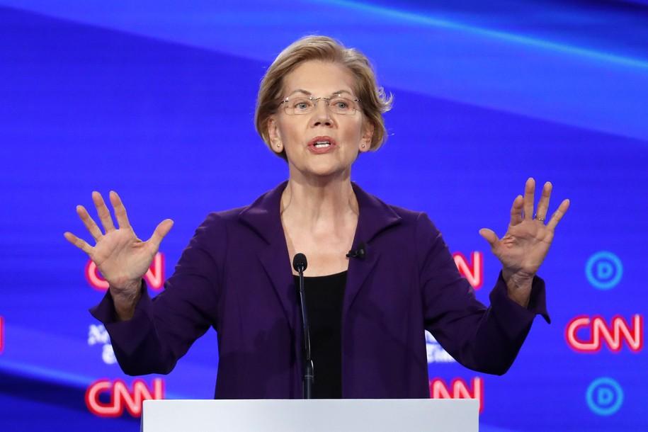 Anyone Watch The Elizabeth Warren Post Debate Interview On CNN? Ahem...We Have a Problem