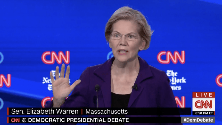 Warren (unofficially) grows her lead in the post-third-debate Daily Kos presidential straw poll
