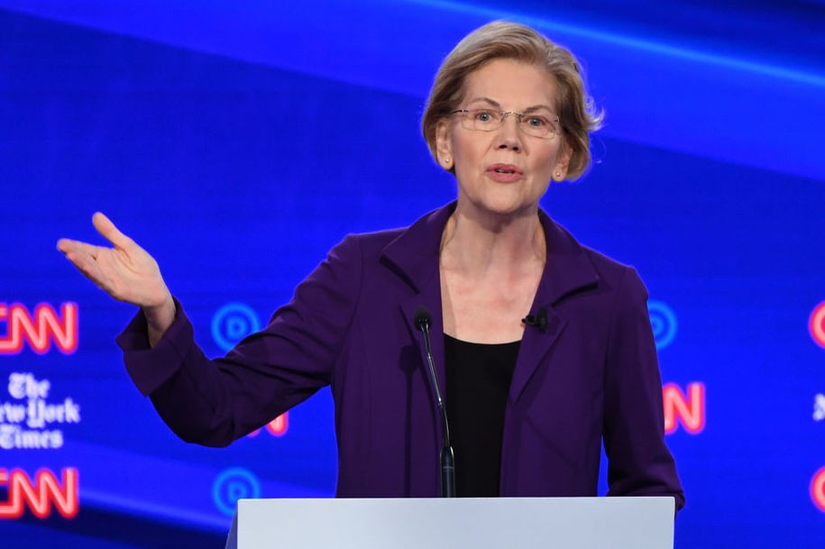 The super-rich are already in a panic over Elizabeth Warren's tax plan
