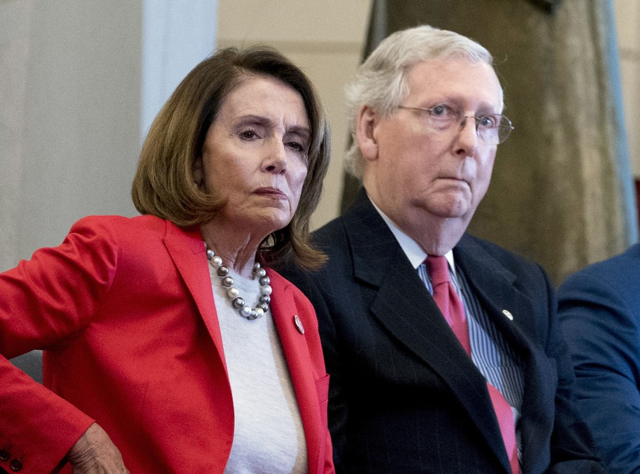Moscow Mitch tries to dictate schedule of impeachment. Pelosi brushes him off