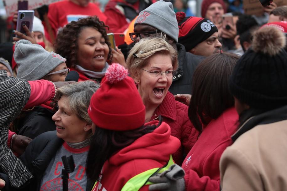 'Angry' Elizabeth Warren to Biden and Buttigieg: Bring it