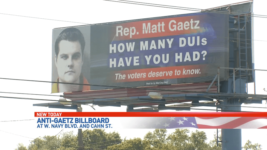 another slow news day that needs retroactive continuity, so Matt Gaetz is not a witch