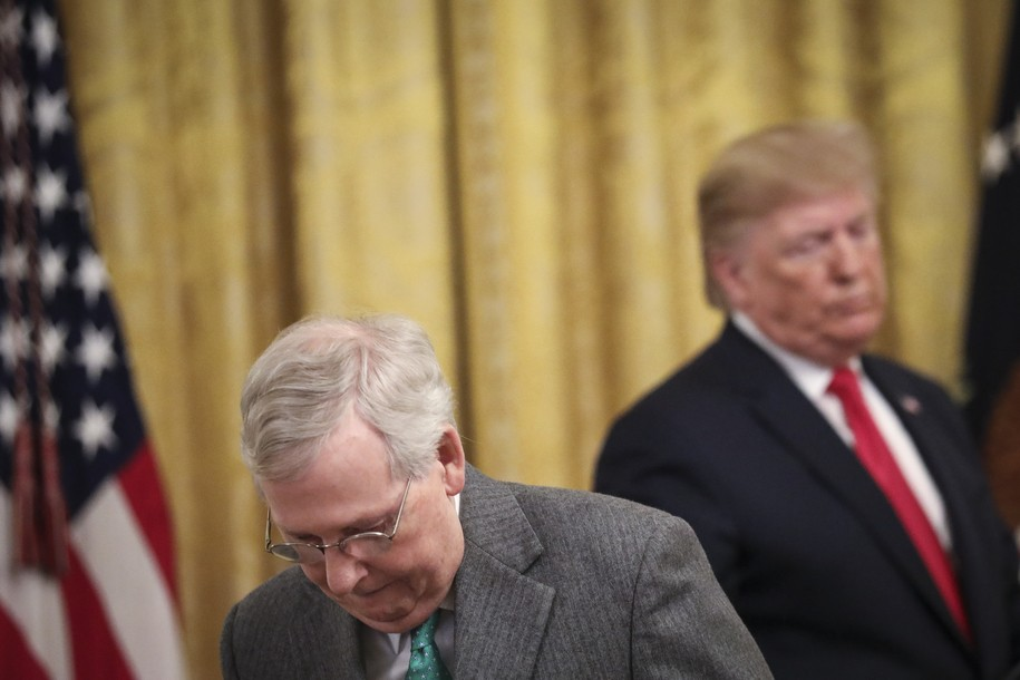 The Senate could be debating Dreamer legislation passed by the House months ago, but Mitch