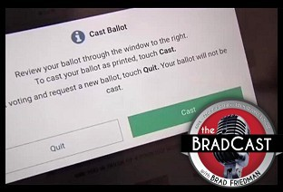 Election Advocates Demand Decert of New E-Vote Systems that Failed in PA, GA: 'BradCast' 11/14/2019