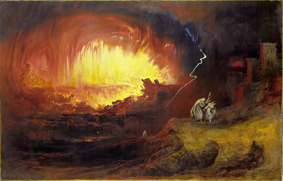 Dvar Torah: Parshat Vayeira's Meteor Airburst... we've seen fire and we've seen rain...