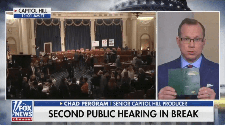 Fox News reporter defends witness intimidation, saying Constitution doesn't explicitly forbid it