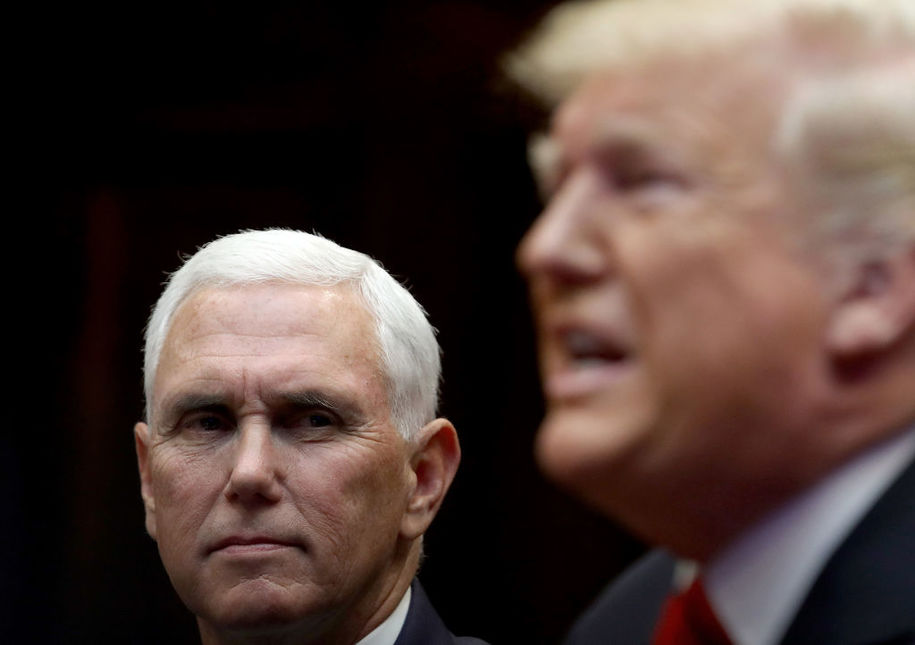 Vice President Mike Pence's office releases a statement calling Ambassador Gordon Sondland a liar