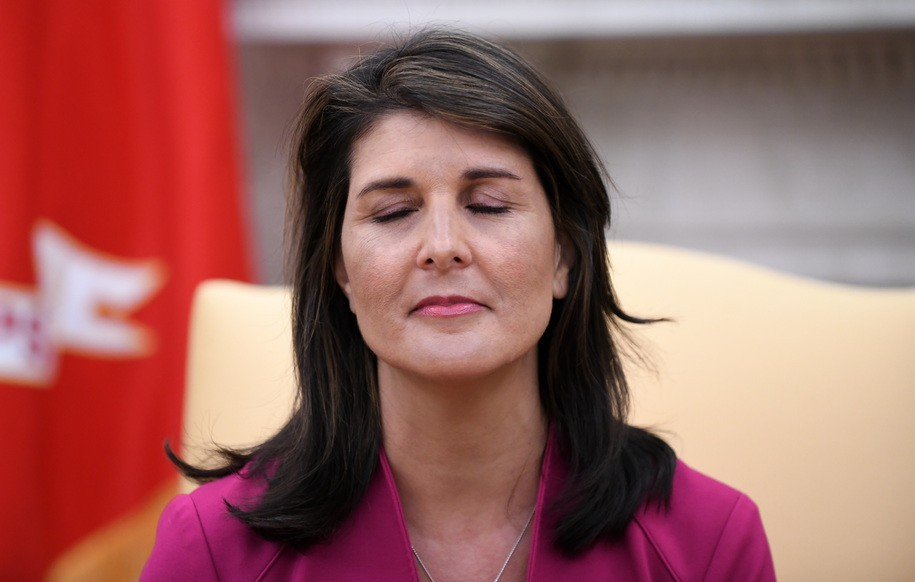 Lock her up? Nikki Haley reportedly used BlackBerry 10 to send 'confidential' messages during crisis