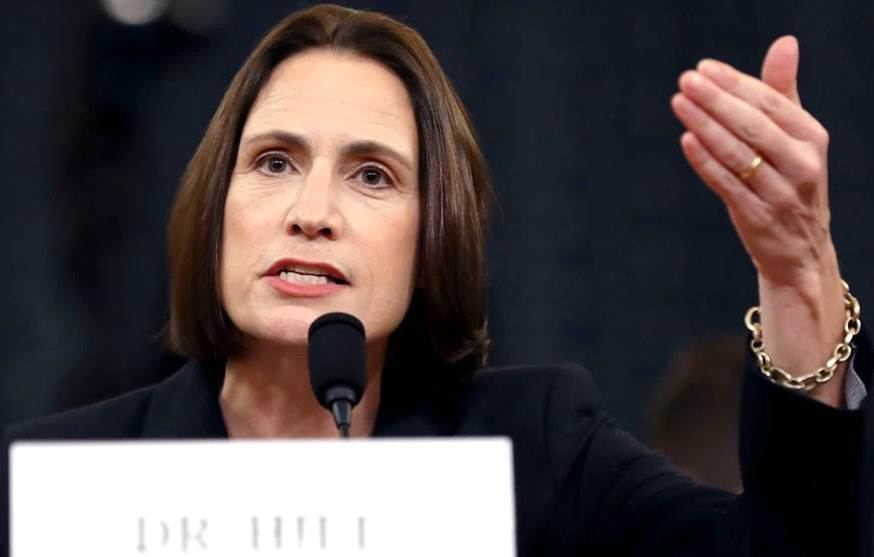 On the 5th day of Impeachment .... we got Bad-Ass Dr. Fiona Hill