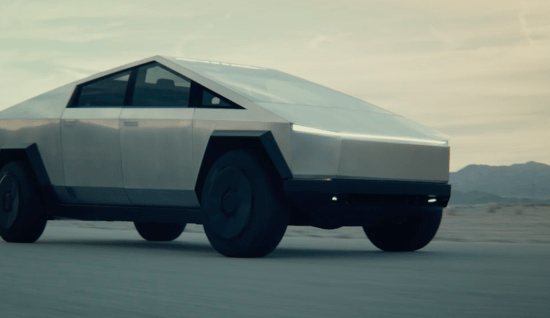 Tesla Introduced An Electric Pickup Called Cyber Truck With