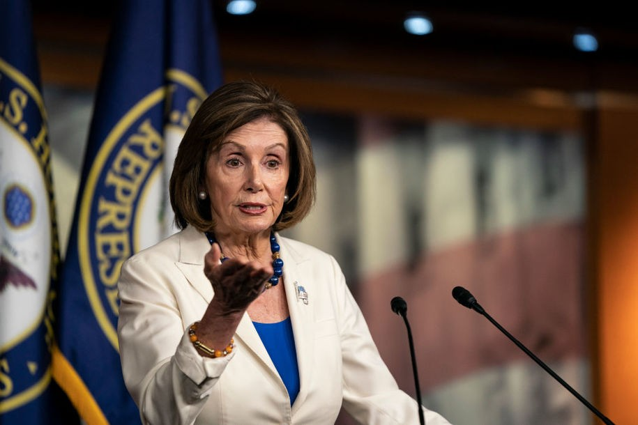 Pelosi-aligned super PAC locks in $51 million in fall ads with eye to House seats in swing states