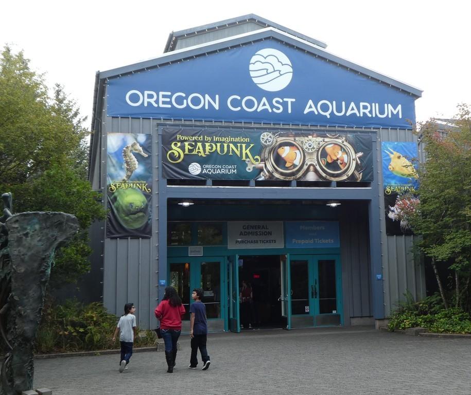Oregon Coast Aquarium: Seapunk! (photo diary)