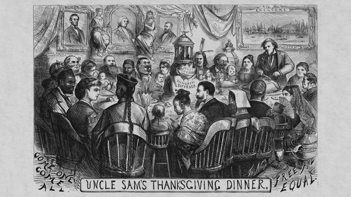 Happy Thanksgiving Abraham Lincoln