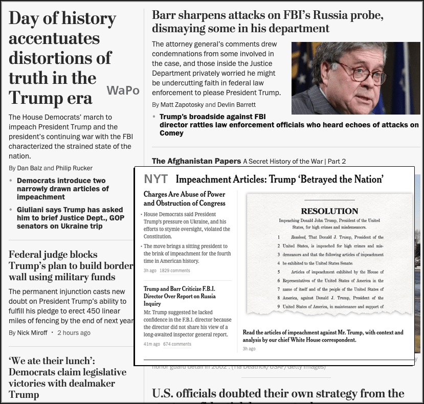 Abbreviated Pundit Round-up: Historic impeachment articles introduced and Trump WILL be impeached