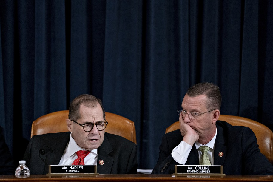 Judiciary Committee resumes hearing to send Articles of Impeachment to full House