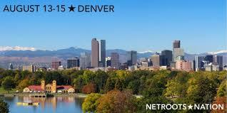 Graphic for Netroots Nation Denver in 2020