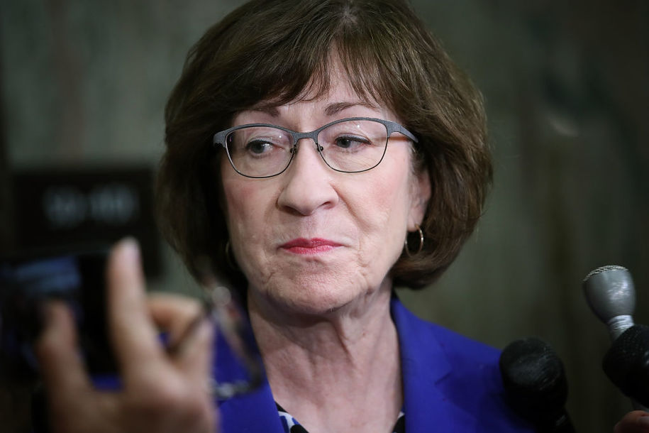 Collins breaks ethics rules in the most Republican way, while swearing fealty to Trump and McConnell