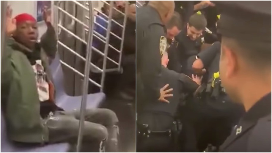 Unarmed subway rider tackled and ambushed by mob of New York cops plans $1 million lawsuit
