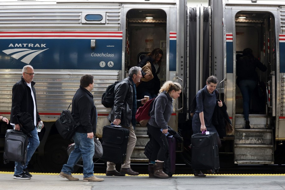 Amtrak conductor asked NAACP lawyer to surrender her seat, she alleges in viral Twitter posts
